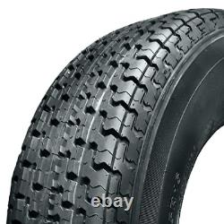 2 New Omni Trail Radial Trailer Tire ST205/75R14 105L LRD 8PLY Rated