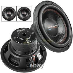 2 Pack American Bass XD-1244 12 Subwoofer Dual 4 Ohm 1000 Watts Max Car Audio