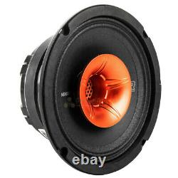 2 Pack Memphis Audio 6.5 Coaxial Speakers 250W Max Street Reference SRXP62WT