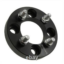 4 pcs 1 4x108 or 4x4.25 to 4x100 Wheel Adapters Spacers 12x1.5 Studs 25mm