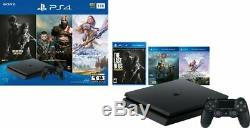 Brand New Sony PlayStation 4 PS4 Slim 1TB Console 3 Game Bundle Fast Shipping