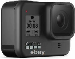 GoPro HERO8 Black with Deluxe Accessory Bundle All in one full package