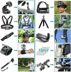 GoPro HERO9 Black with 32GB Card & 50 Piece Accessory Kit Loaded Bundle