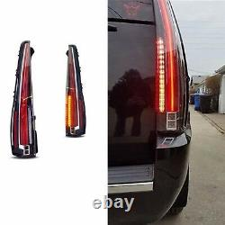 LED Tail Lights Rear Lamp For Cadillac Escalade ESV 07-14 2016 Version Assembly