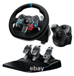 Logitech Driving Force G29 Racing Wheel WithPedals and Shifter ps4 pc BUNDLE