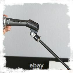Microphone Boom Stand 6-PACK Cardioid Dynamic Mic Studio Stage Mount XLR Cable