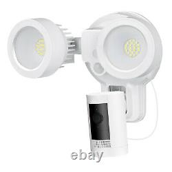 Ring Floodlight Mount with Ring Stick Up Cam Battery Bundle Deal Camera, 1 Pack