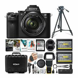 Sony Alpha a7 II Mirrorless Digital Camera with 28-70mm Lens & Accessories Bundle