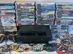Sony PlayStation 2 Slim or fat PS2 Console Bundle 5 Games, New Games every day