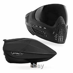 Virtue Spire IR Electronic Paintball Loader and VIO Ascend Mask Bundle Black